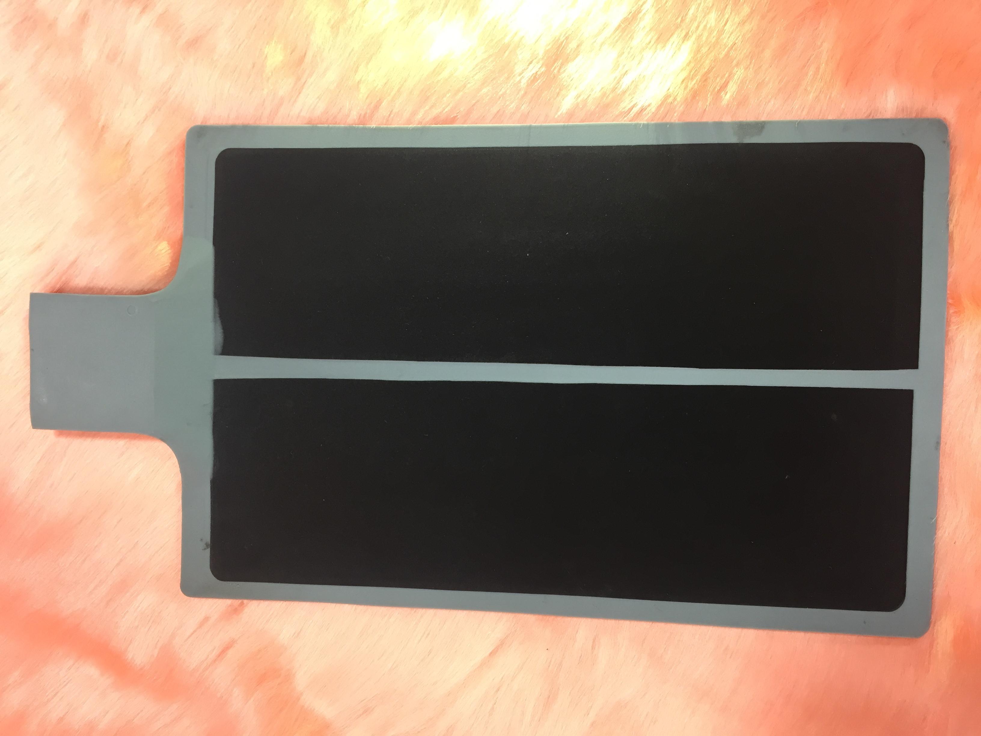 Silicon Patient Plate (spilt type)