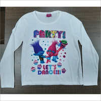 Long Sleeve Girls T-shirt