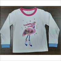 Girls Designer Long Sleeve T-shirt