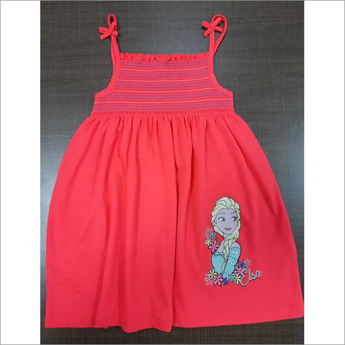 Girls Smocked Tank Top