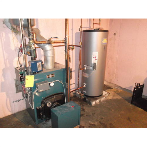 Oil Fired Hot Water System