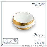 Golden White Imported  Wash Basin