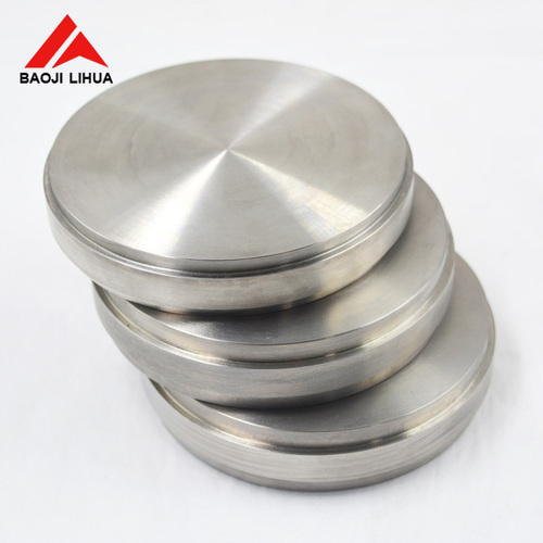 Zirconium 99.95% Zr60702 round sputtering target for PVD UNS R60702