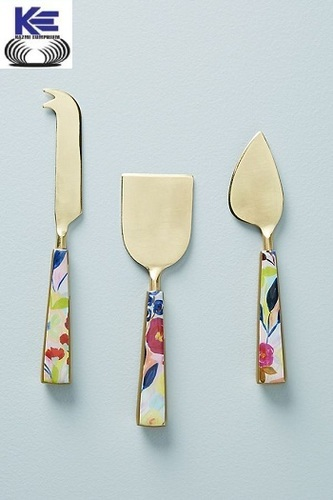 Color Full handle Cheese Knives