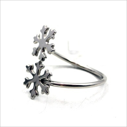 Snowflake Design Napkin RIng