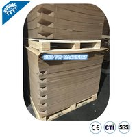 paper slip sheet pallet for bottled water