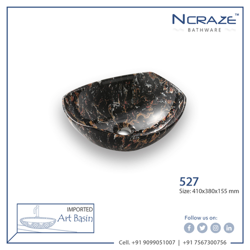 Black ceramic Wash Basin