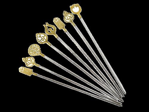 Brass handle Skewer