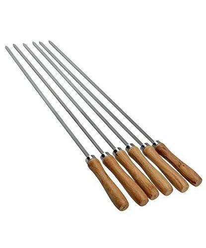 Wooden Handle Skewer BBQ