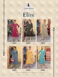 Elite Ladies Flavour 3D Stripe Kurti Manufacturer