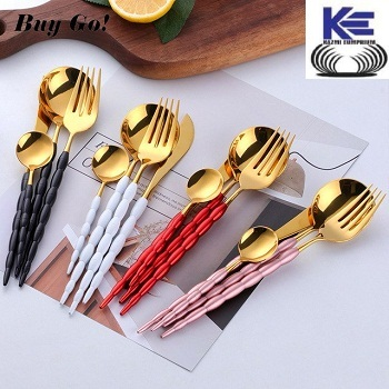 Color Full handle Brass Cutlery