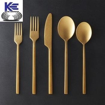 Brass Cutlery with matt finish
