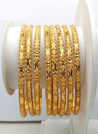 New Design Gold plated shagun Bangle