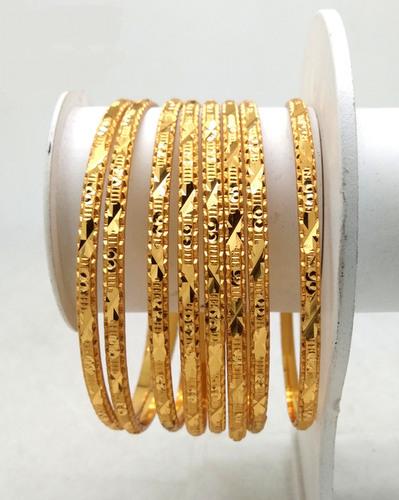 Traditional Gold Plated Shagun Bangle