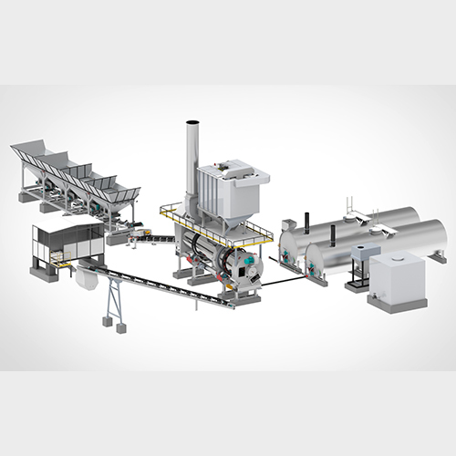Counter Flow Drum Mix Plant