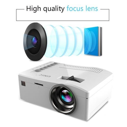 UC18 HD 1080P TFT LCD Home Mini HD Projector