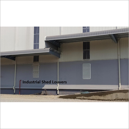 Industrial Shed Louvers