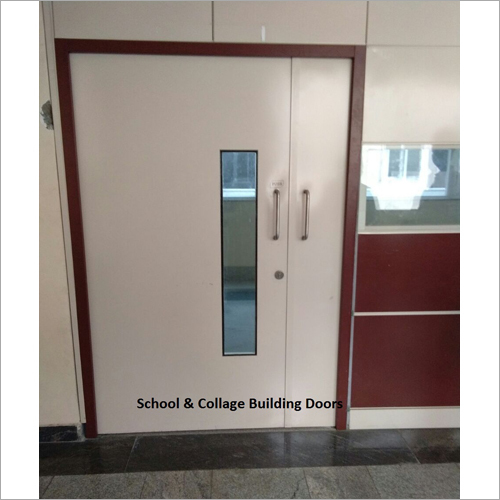 School And Collage Building Door