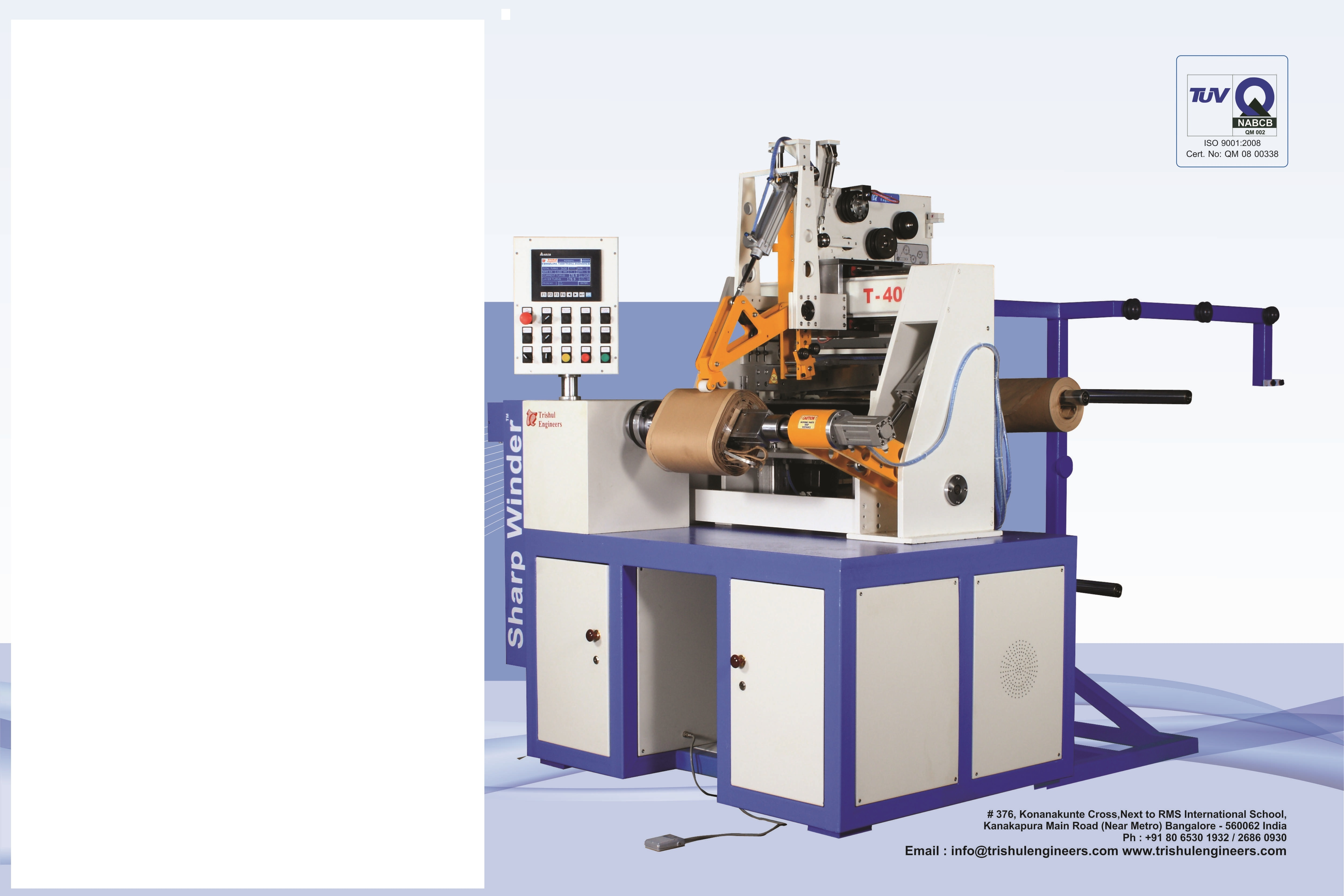 Programmable Transformer Coil Winding Machine