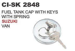 Fuel tank Cap with Keys and Spring Suzuki Van