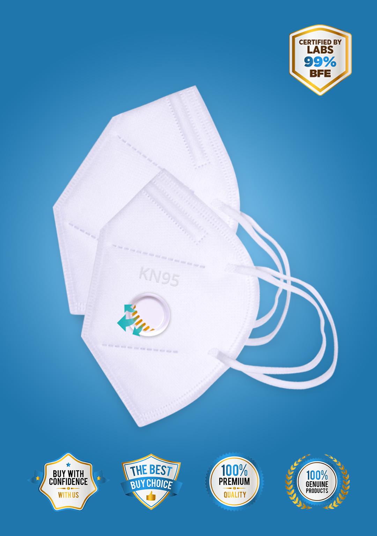 N95/KN95/FFP2 Mask with Respirator