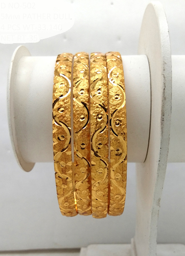 Traditional Gold plated shagun Bangle
