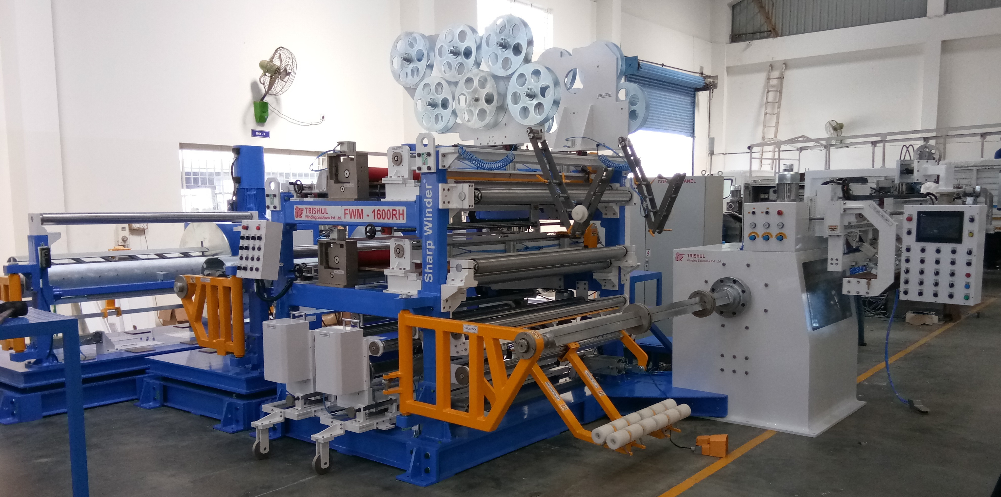 Foil Winding Machine for Low power Transformer