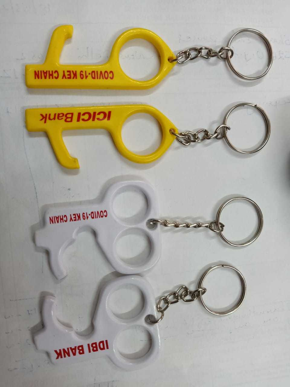 Covid keychain