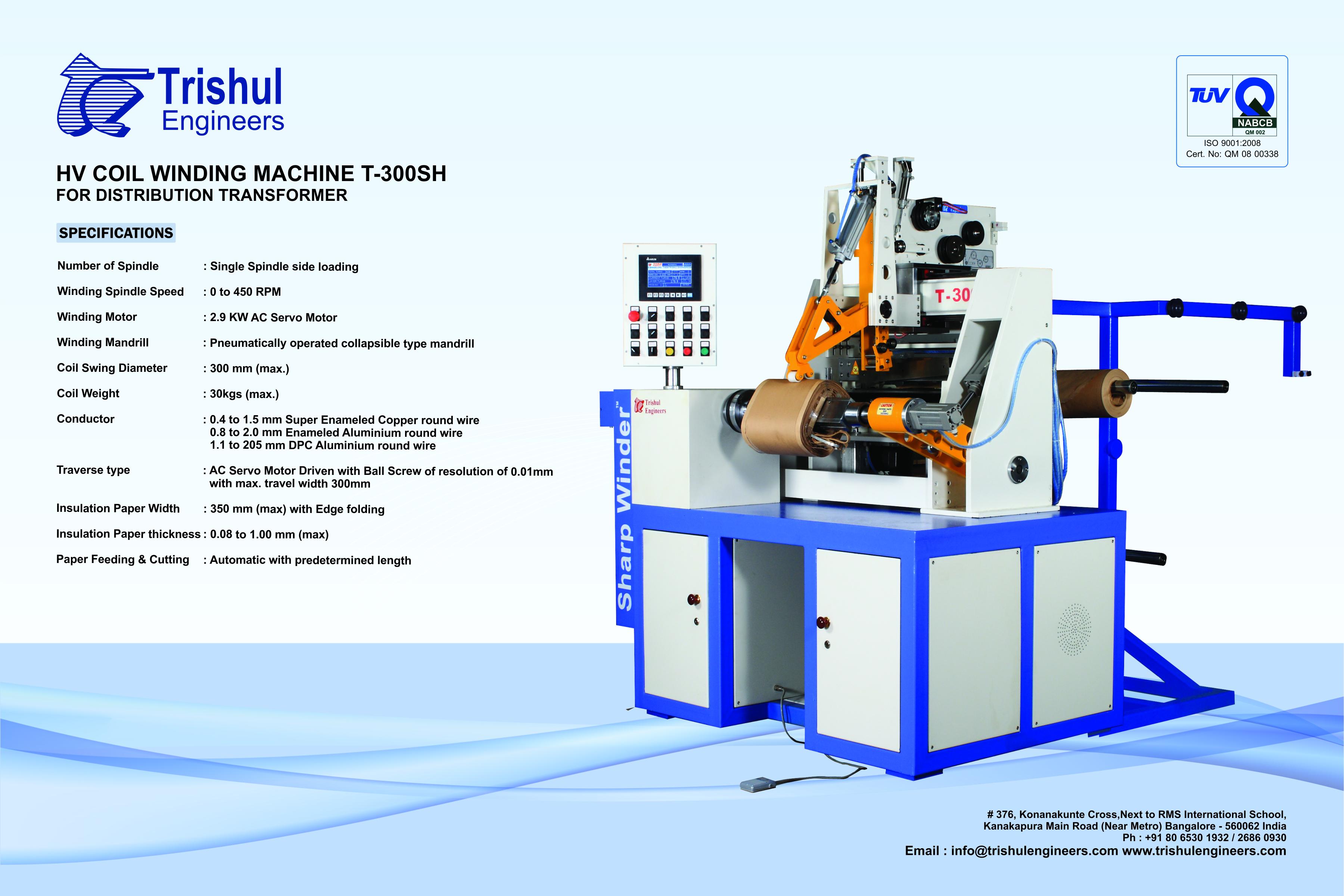 Heavy Duty Stabilizer/ Inverter Coil Winding Machine