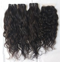 Vintage Unprocessed  Wavy  Hair