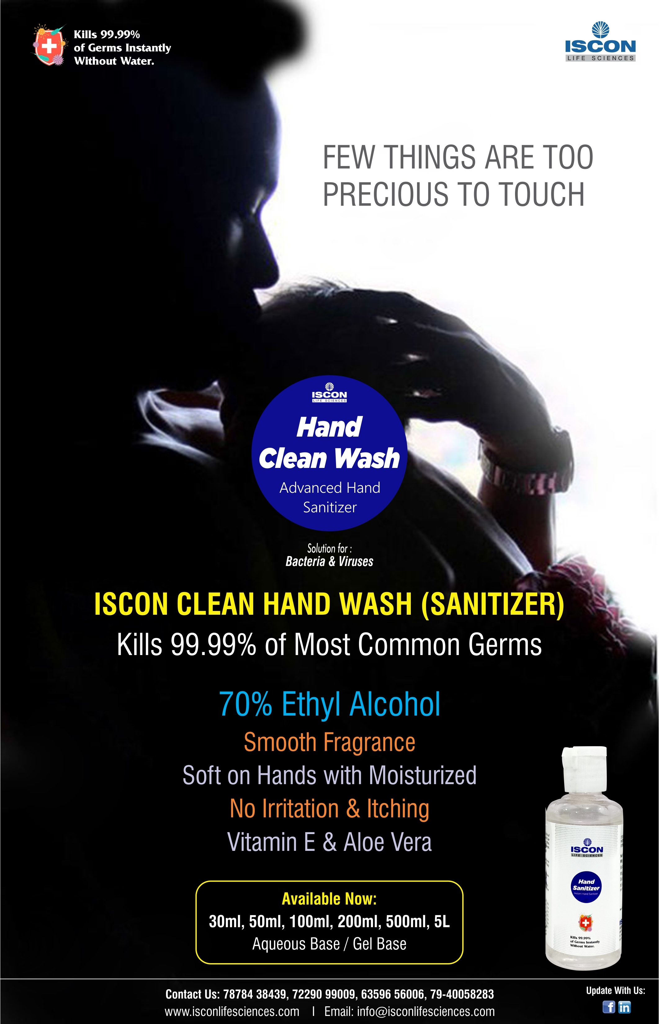 hand Sanitizer liquid 500ml