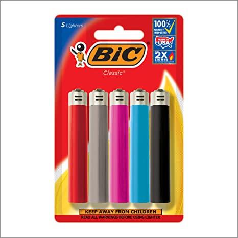 BIC 5 Lighters