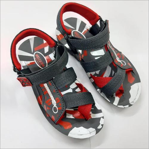 DIP Sandals Red N Black