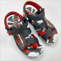 DIP Sandals Red N Black