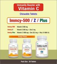 Vitamin C 500mg + Zinc Sulphate 5mg