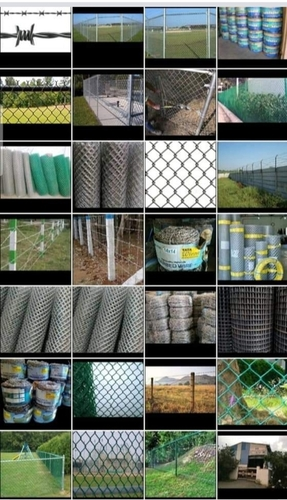 Galvanized Iron (GI) Chain Link Mesh