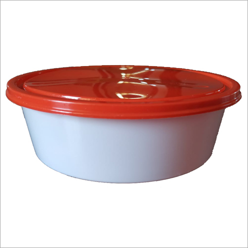 Flat 600 ml Food Container
