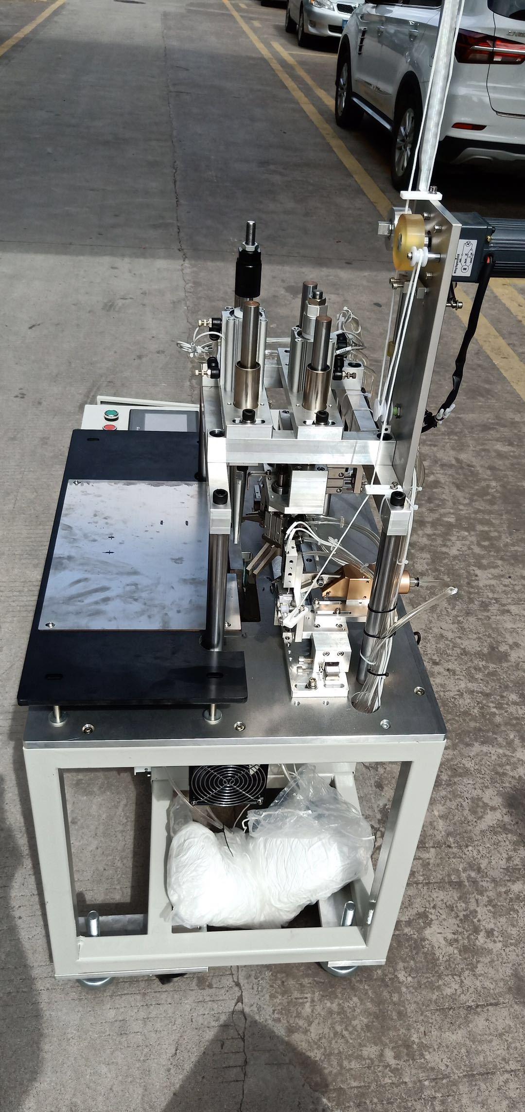 Mask Ear loop Ultrasonic welding machine