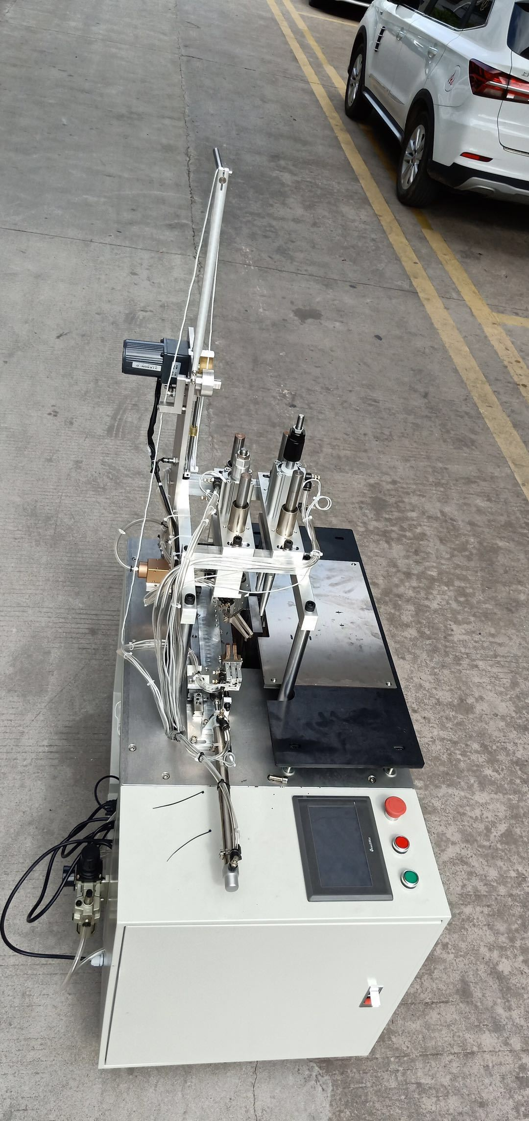 Mask Ear loop Ultrasonic welding machine