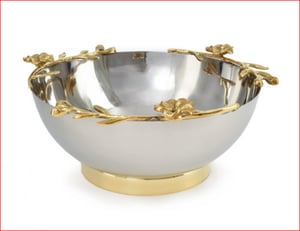 Steel and Brass Bowl