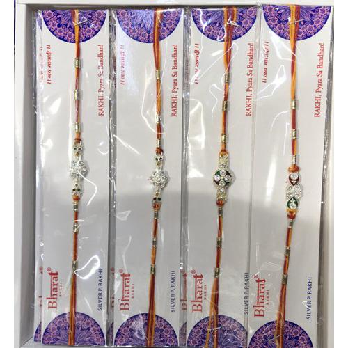 Designer Stone String Rakhi