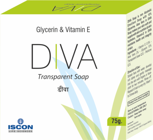 Diva Soap (Vitamin E & Mineral Oil  (Moisturizing Soap)