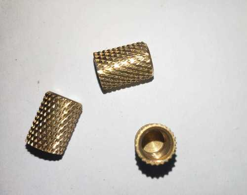Brass threaded brass inserts