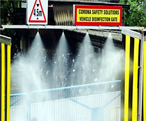 VEHICLE DISINFECTION GATE