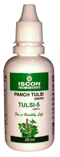 TULSI-5 Panch (Tulsi Drops 20ml)
