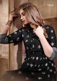 Fabfirki Kitty Party Vol-1 Plain Print Wholesale Kurta