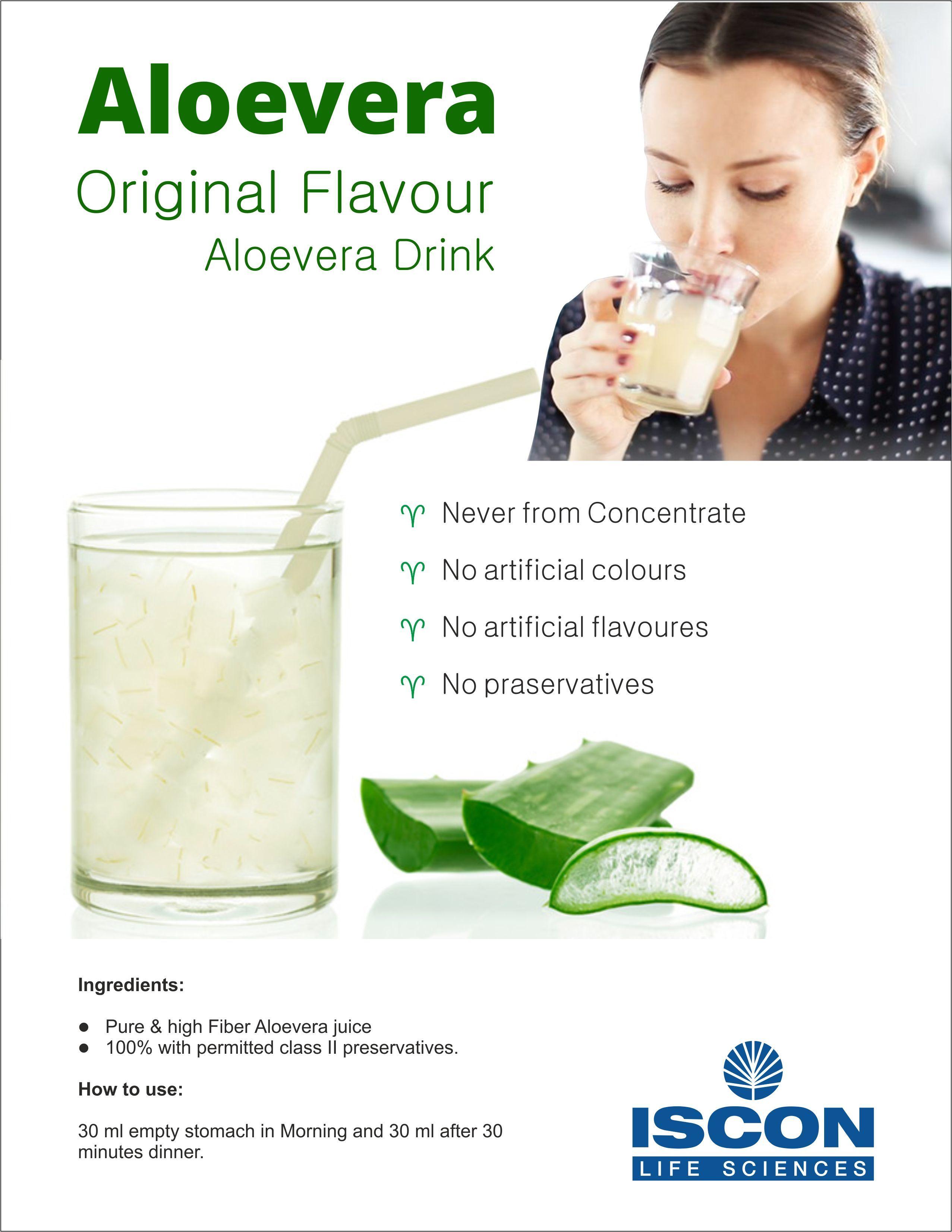 Aloe vera (Original Flavour  Aloe vera Drink)