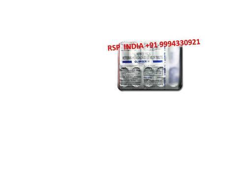 Glimser 1mg Tablet