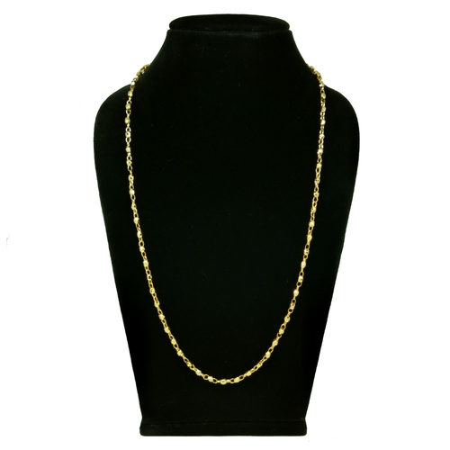 24 Inch Gold plated Forming chain