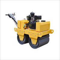 Walk Behind Double Drum Vibratory Roller